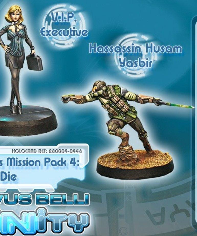 Corvus Belli - CVB Infinity - Dire Foes - Mission Pack 4: Flee or Die