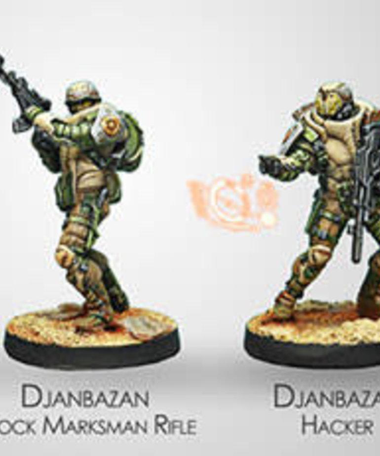 Corvus Belli - CVB Infinity: Haqqislam - Djanbazan Tactical Group (4) BLACK FRIDAY NOW