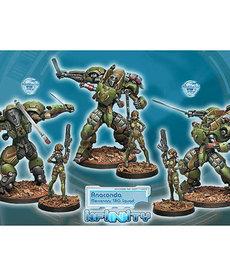 Corvus Belli - CVB Infinity: Mercenaries - Anaconda, Mercenary TAG Squadron
