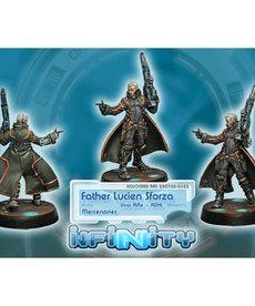 Corvus Belli - CVB Infinity: Mercenaries - Father Lucien Sforza (Viral Rfl + ADHL)