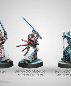 Corvus Belli - CVB Infinity: Mercenaries - Miyamoto Mushashi Aristeia Outfit (2)