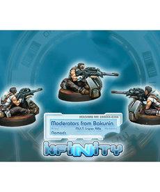 Corvus Belli - CVB Moderators from Bakunin (Multi Sniper Rifle) BLACK FRIDAY NOW
