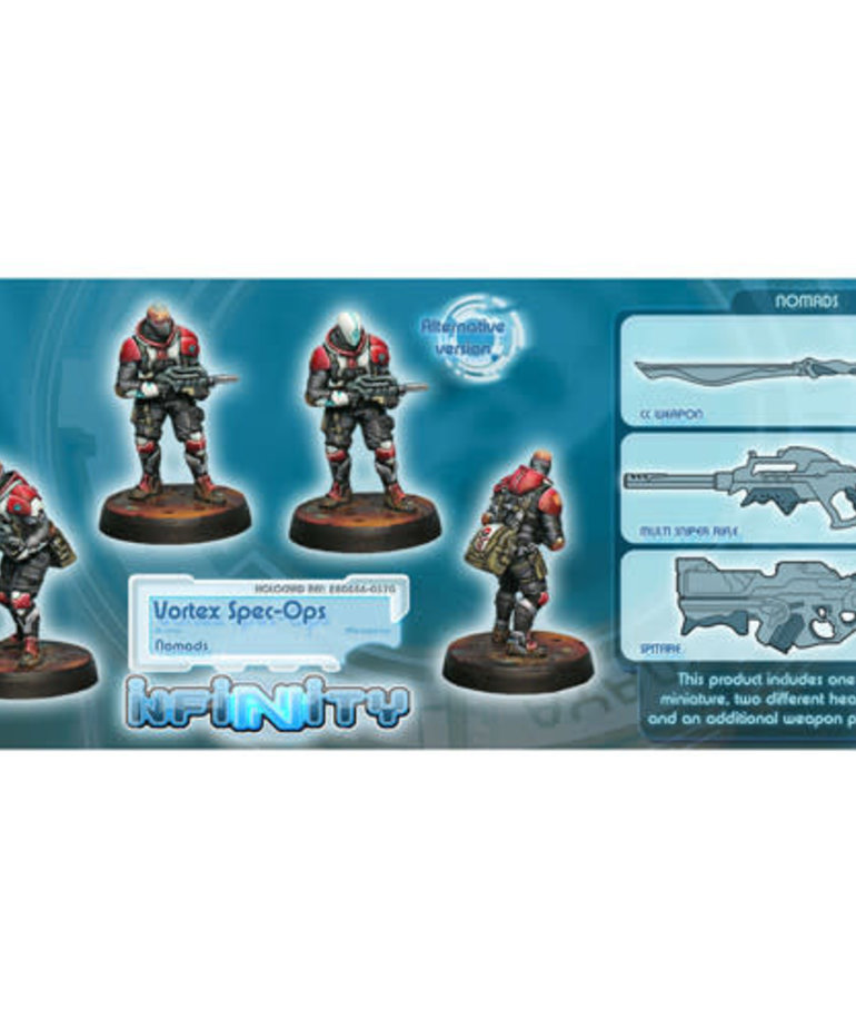 Corvus Belli - CVB Infinity: Nomads - Vortex Spec-Ops BLACK FRIDAY NOW