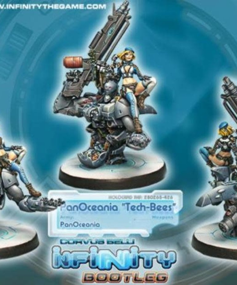 Corvus Belli - CVB Infinity: PanOceania - Bootleg Tech-Bees
