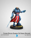 Corvus Belli - CVB Infinity - Panoceania - Father-Officer Gabriele De Fersen