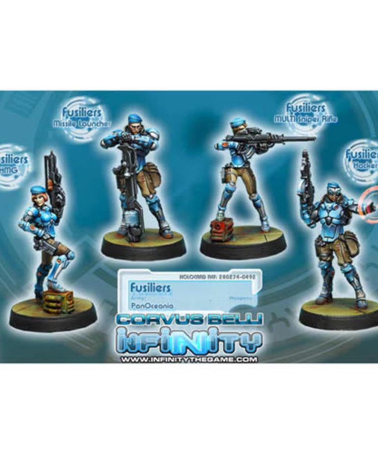 Corvus Belli - CVB Infinity: PanOceania - Fusiliers (4)
