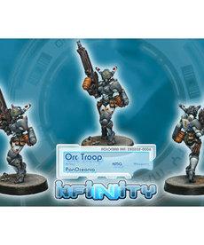 Corvus Belli - CVB Infinity: PanOceania - Orc Troop (HMG)