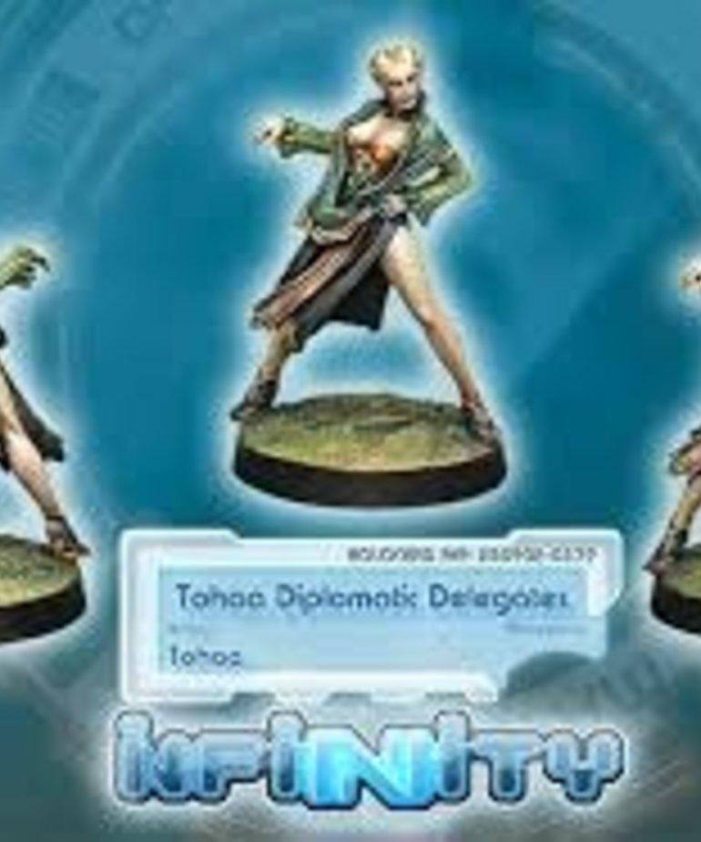 Corvus Belli - CVB Infinity: Tohaa - Diplomatic Delegates