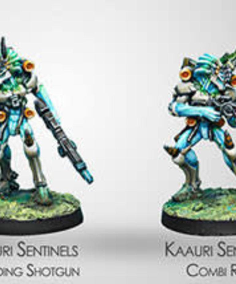 Corvus Belli - CVB Infinity: Tohaa - Kaauri Sentinels (Combi Rifle / Boarding Shotgun)