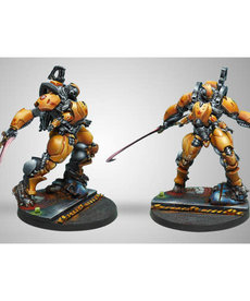 Corvus Belli - CVB Infinity: Yu Jing - Guijia Squadrons (HMG Multi + Heavy Flamethrower)