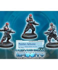 Corvus Belli - CVB Infinity: Yu Jing - Raiden Seibutai (Heavy Rocket Launcher) (1)
