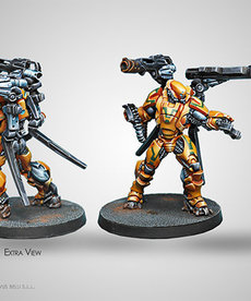 Corvus Belli - CVB Infinity - Yu Jing: Yan Huo Invincibles - Fire Support Heavy Regiment