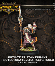 Privateer Press - PIP Warmachine - Protectorate of Menoth - Initiate Tristan Durant Character - Solo