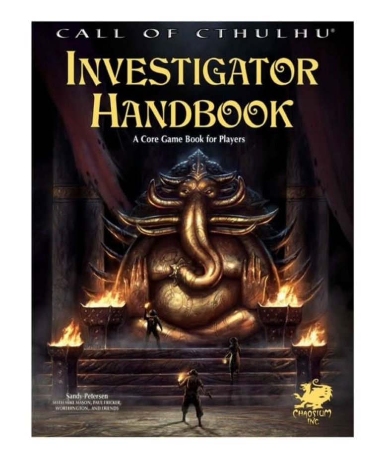 Investigator Handbook (Call of Cthulhu Roleplaying) (Domestic Orders Only)