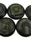 Secret Weapon Miniatures - SWM Iron Deck 40mm Bases (5) Secret Weapon Bases BLACK FRIDAY NOW