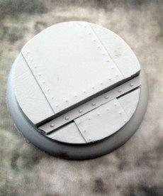 Secret Weapon Miniatures - SWM CLEARANCE Iron Deck 50mm Base 02 Secret Weapon Bases