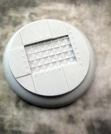 Secret Weapon Miniatures - SWM Iron Deck 50mm Base 03 BLACK FRIDAY NOW