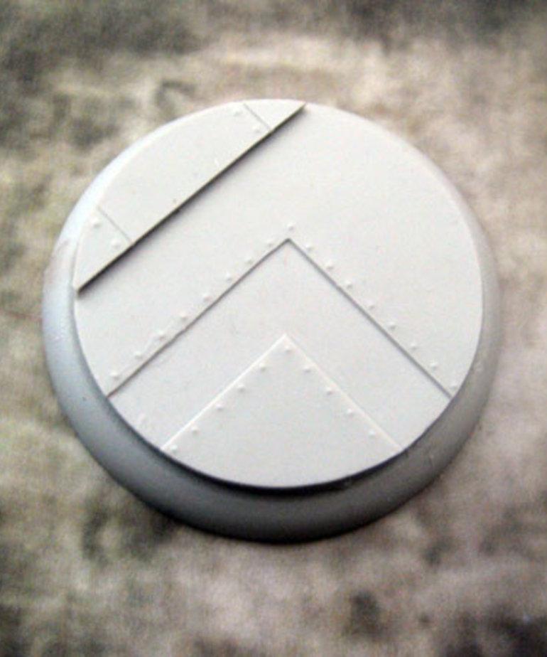 Secret Weapon Miniatures - SWM Iron Deck 50mm Base 04 Secret Weapon Bases BLACK FRIDAY NOW