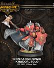 Privateer Press - PIP Warmachine - Khador - Iron Fang Kovnik - Solo