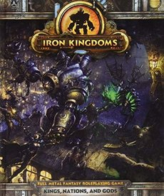 Privateer Press - PIP CLEARANCE Iron Kingdoms Roleplaying Game: Kings, Nations, and Gods (DOMESTIC ONLY)