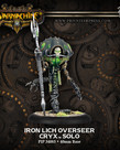 Privateer Press - PIP Warmachine - Cryx - Iron Lich Overseer