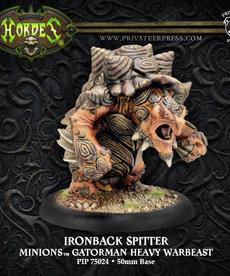 Privateer Press - PIP Hordes - Minions - Ironback Spitter - Gatorman Heavy Warbeast