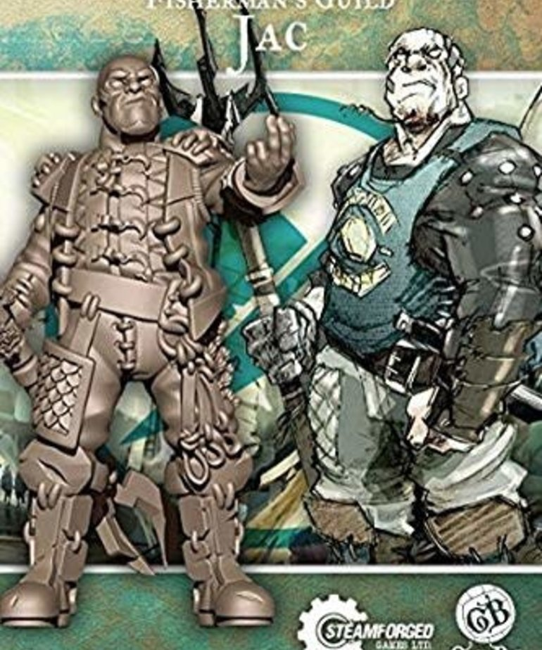 Steamforged Games LTD - STE Jac Guild Ball BLACK FRIDAY NOW