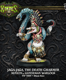Privateer Press - PIP Hordes - Minions - Jaga-Jaga, the Death Charmer - Gatorman Warlock (Jaga-Jaga 1)