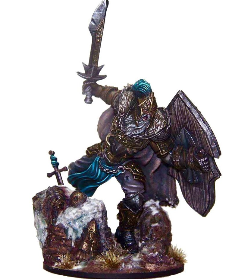 Gunmeister Games - GRG Judgement - Humans - Sir Marcus: Winter Knight - Defender