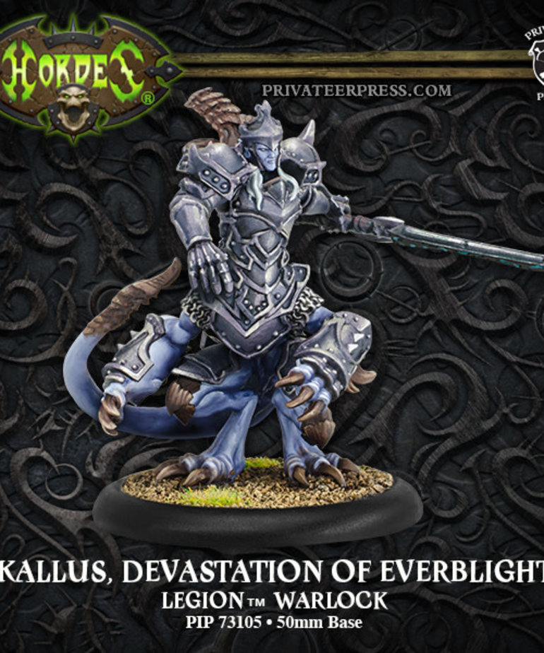 Privateer Press - PIP Hordes - Legion of Everblight - Kallus, Devastation of Everblight - Warlock (Kallus 2)