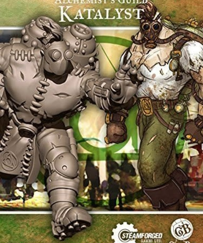 Steamforged Games LTD - STE CLEARANCE Katalyst Guild Ball