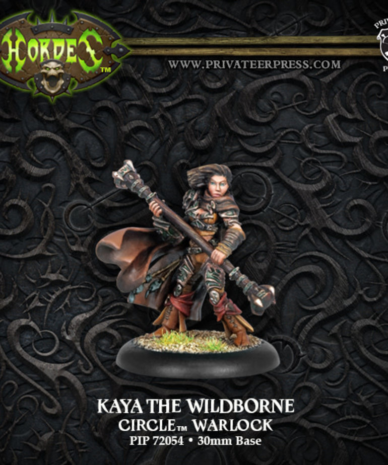 Privateer Press - PIP Hordes - Circle Orboros - Kaya the Wildborne - Warlock (Kaya 1)