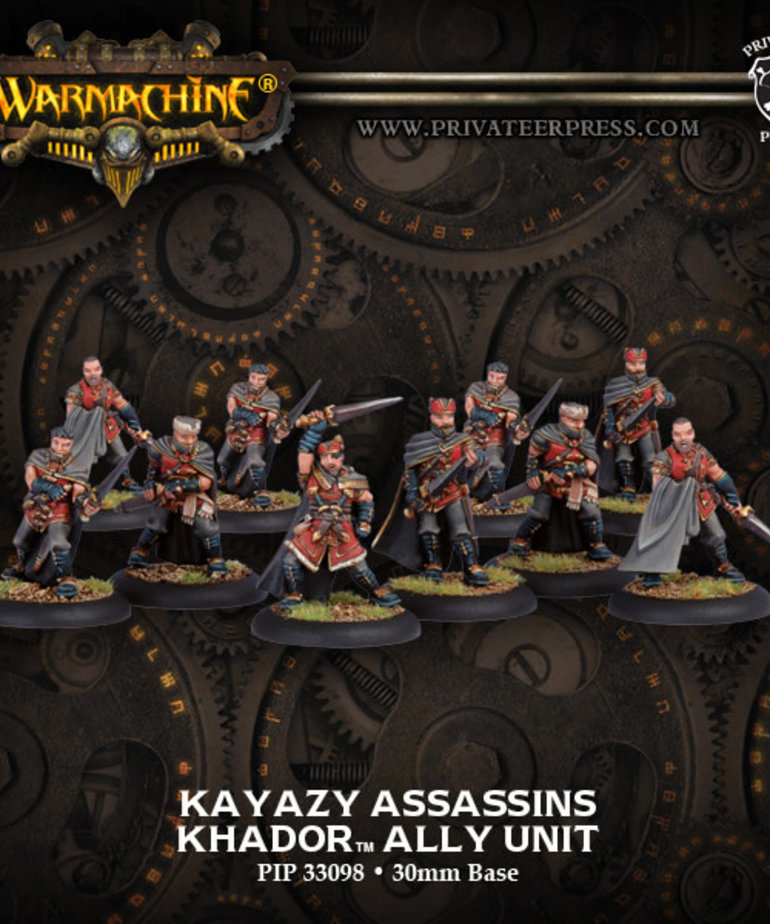 Privateer Press - PIP Warmachine - Khador - Kayazy Assassins Ally - Unit