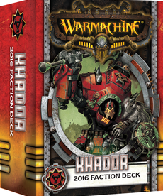 Privateer Press - PIP Warmachine - Khador - 2016 Faction Deck MK III