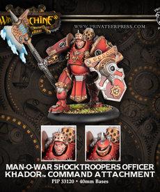Privateer Press - PIP Man-O-War Shocktroopers Officer