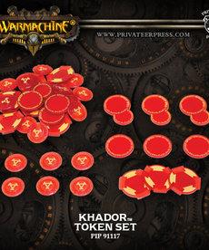 Privateer Press - PIP Warmachine - Khador - Token Set Mark III