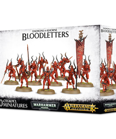 Games Workshop - GAW Warhammer Age of Sigmar - Daemons of Khorne - Bloodletters