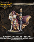Privateer Press - PIP Warmachine - Protectorate of Menoth - Knights Exemplar Officer - Command Attachment