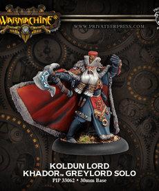 Privateer Press - PIP Warmachine - Khador - Koldun Lord Greylord - Solo