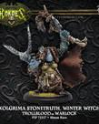 Privateer Press - PIP Hordes - Trollbloods - Kolgrima Stonetruth, Winter Witch - Warlock (Kolgrima 1)