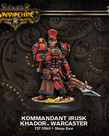 Privateer Press - PIP Warmachine - Khador - Kommandant Irusk - Warcaster (Irusk 1)