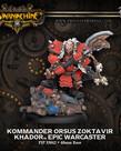Privateer Press - PIP Warmachine - Khador - Kommander Orsus Zoktavir - Epic Warcaster (Orsus 1)