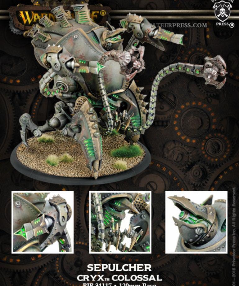 Privateer Press - PIP Warmachine - Cryx - Kraken / Sepulcher - Colossal