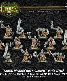 Privateer Press - PIP Hordes - Trollbloods - Kriel Warriors - Trollkin Unit & Weapon Attachments