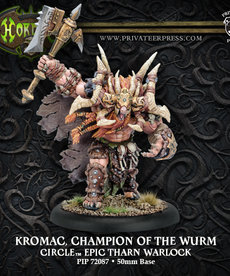 Privateer Press - PIP Hordes - Circle Orboros - Kromac, Champion of the Wurm - Epic Tharn Warlock (Kromac 2)