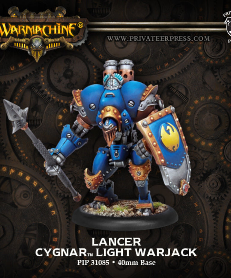 Privateer Press - PIP Warmachine - Cygnar - Lancer - Light Warjack