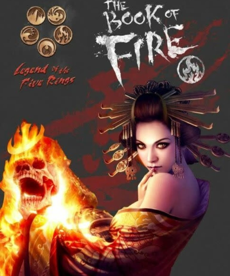 Alderac Entertainment Group - AEG CLEARANCE Legend of the Five Rings - Book of Fire (DOMESTIC ONLY)