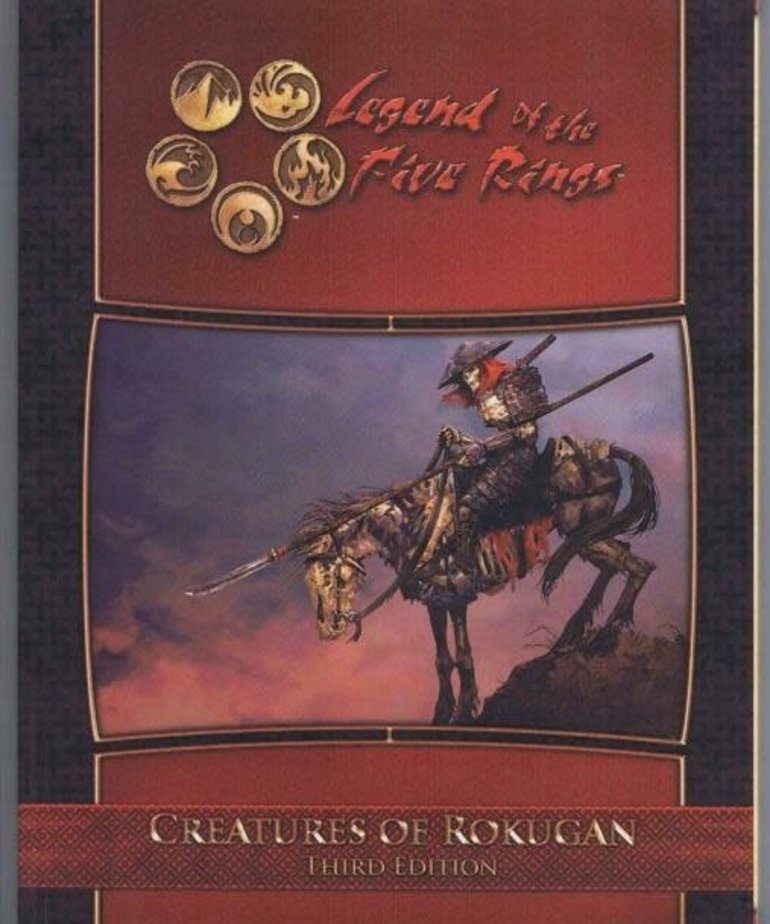 Alderac Entertainment Group - AEG CLEARANCE Legend of the Five Rings: Creatures of Rokugan Third Edition (DOMESTIC ONLY)