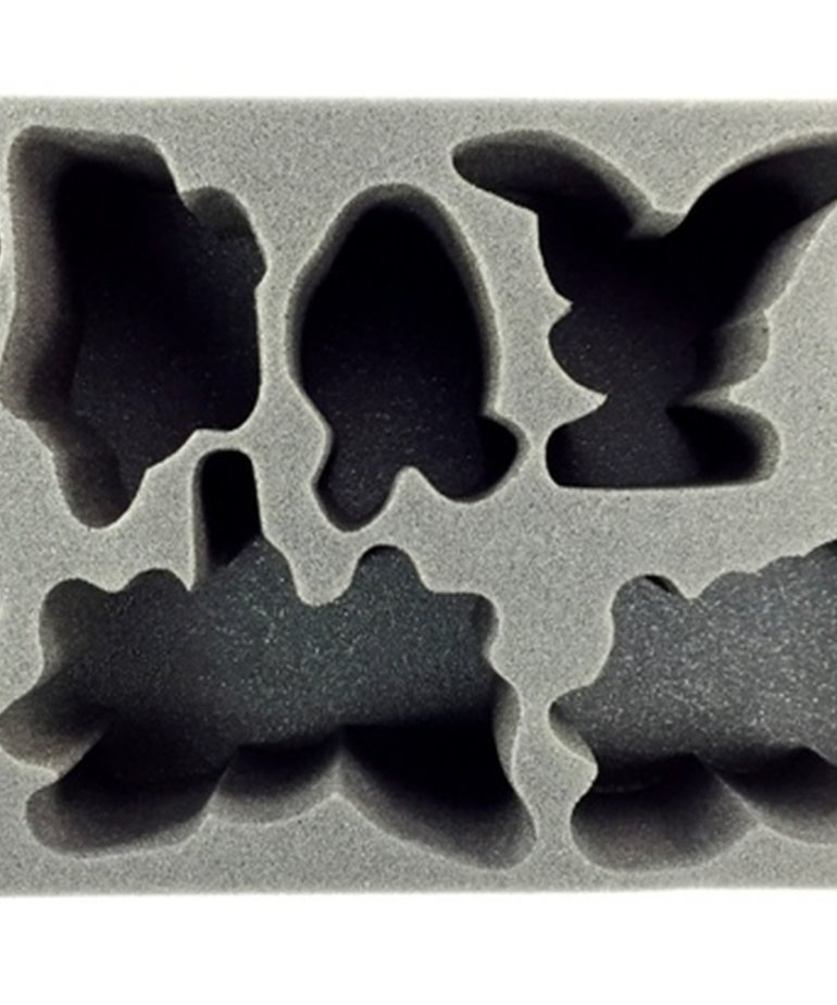 Battle Foam - BAF CLEARANCE Legion of Everblight 2015 Warbeast Foam Tray (International orders with this item may be assessed additional shipping fees at time of shipment)