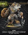 Privateer Press - PIP Hordes - Circle Orboros - Loki - Warpwolf Heavy Warbeast